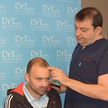 Dr Tayfun before surgery
