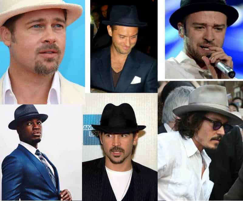 bad hair days- celebrity fedoras